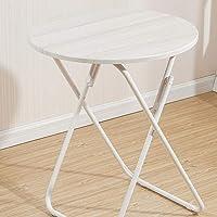 HBJP Table Pliante Simple Maison extérieure Multi-Style en Option Petite Table Ronde Portable Balcon Table à Manger Table Pliante