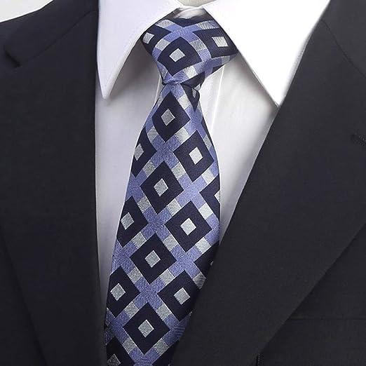 SGLI Traje Profesional para Hombres Corbata de Seda de Negocios ...