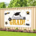 Large Fabric Graduation Party Banner 78 X45 For Graduation Party Supplies 2020 Photo Prop Booth Backdrop Graduation Decorations Indoor Outdoor