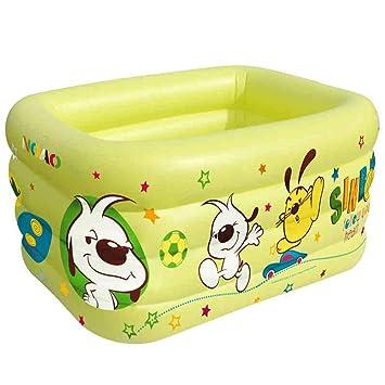 Amazon.com: ZDYG Piscina, bañera hinchable de varias capas ...