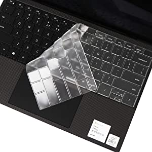 Ultra Thin Keyboard Cover for 2020 Dell New XPS 13 9300 13.4 inch Laptop Keyboard Cover Protective Skin, Dell XPS 13 9300 Accessories, US Layout
