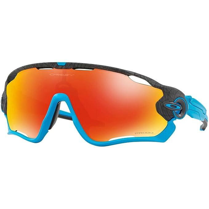 8df37add27806 Oakley Men s Jawbreaker Non-Polarized Iridium Rectangular Sunglasses ...