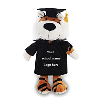 7a81be81b58 Image Unavailable. Image not available for. Color  Plushland Personalized  Stuffed Animal