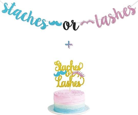 Team Pink Team Blue Cake Topper Baby Shower Cake Topper PINK OR BLUE Cake Topper Gender Reveal Cake Topper Boy or Girl Cake Topper