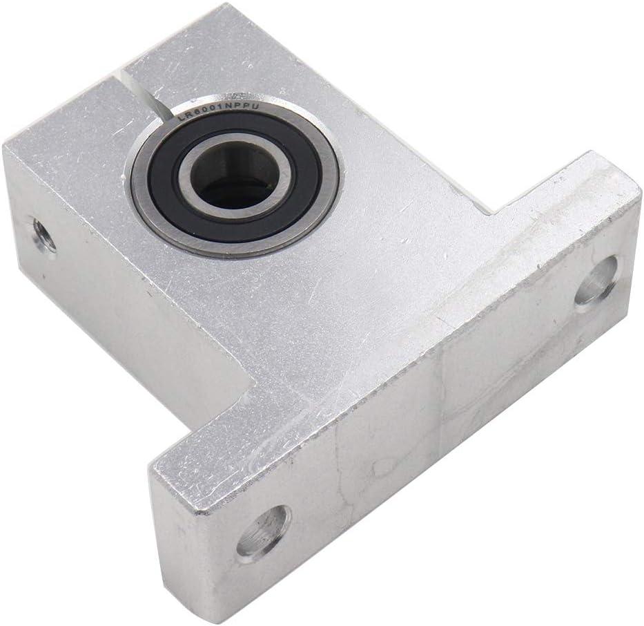 Othmro SK30 Aluminum Linear Motion Rail Clamping Rod Rail Guide Support for 30mm Diameter Shaft 2pcs