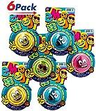 Emoji YoYo by 2GoodShop |Kids Toys Smiley Face Yo-yo for Kids Perfect Party Favors Pack of 6 | Item #4661