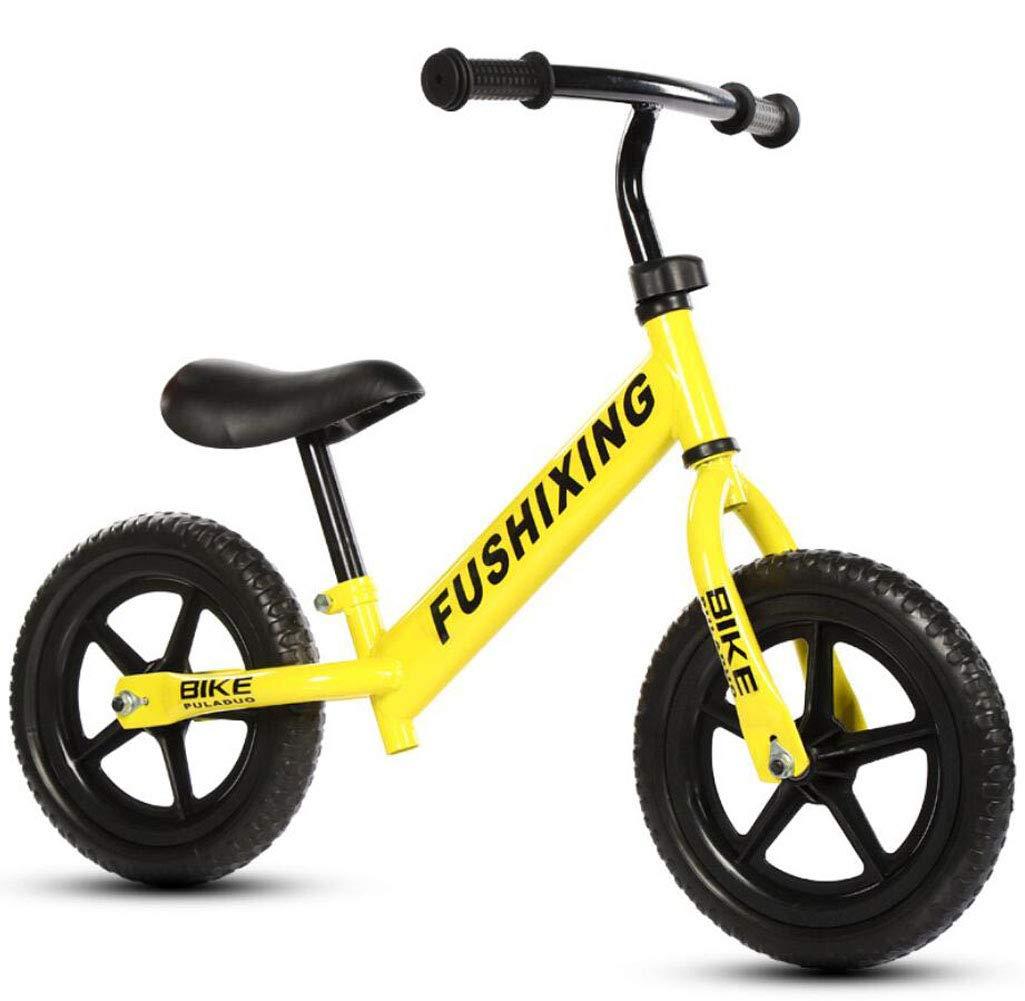 BICYCLE AB Bicicletta da Bambino per Bici da Bambino Bicicletta da Bambino per Bici da Bicicletta, Freestyle da 12  , 14 , 16  , 18  con stabilizzatori Regalo per Ragazzi e Ragazze ( Colore   Giallo )
