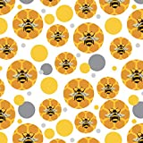 Bee on Honeycomb Premium Gift Wrap Wrapping Paper Roll