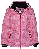 Pulse Women's Plus Size Insulated Snow Ski Jacket Honeycomb (Melon, 4X (26/28))