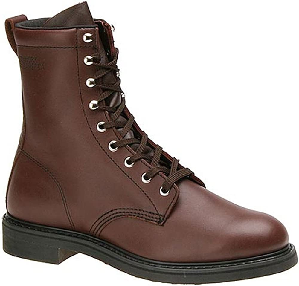 Steampunk Boots and Shoes for Men Work America Mens 8 Farm Work $147.95 AT vintagedancer.com