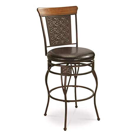 Strange Castlecreek Oversized Pressed Metal Bar Counter Stool Counter Height Machost Co Dining Chair Design Ideas Machostcouk