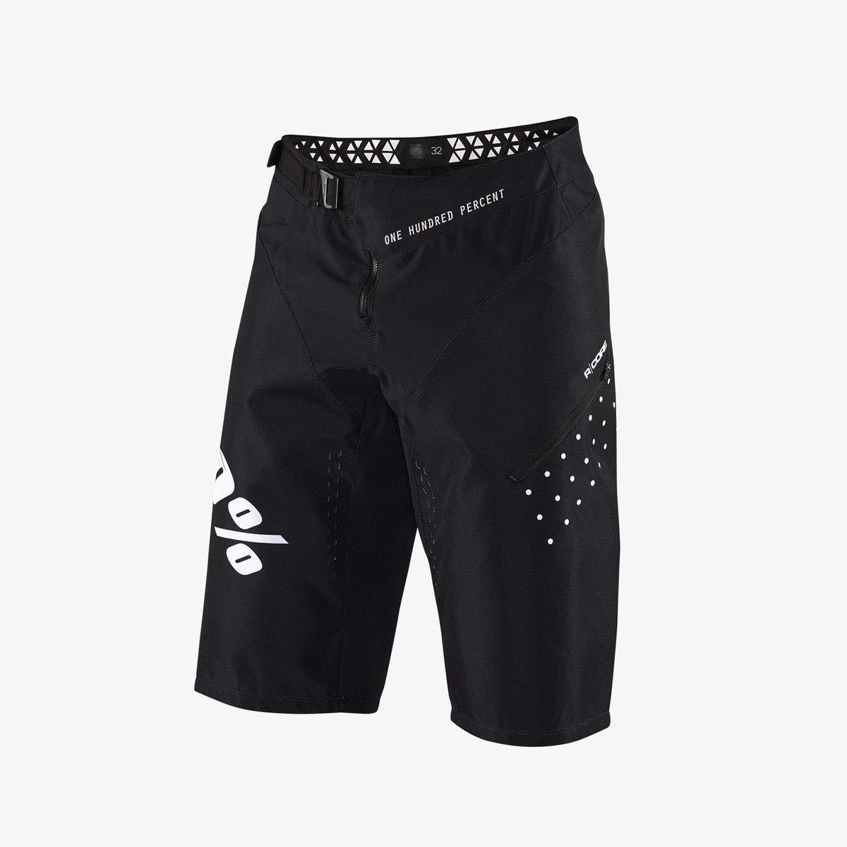 100 Percent Pantaloni Corti MTB R-Core Nero
