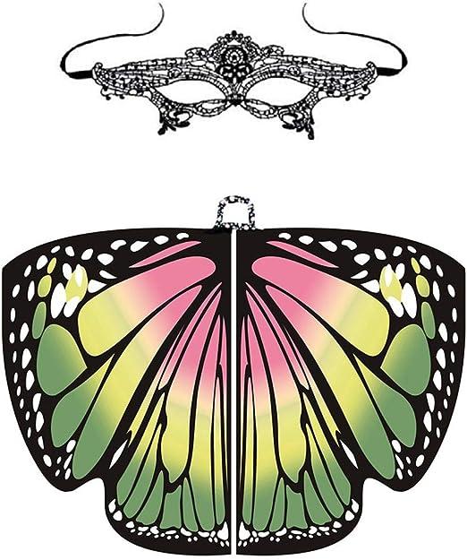 FOONEE - Chal con alas de Mariposa, alas de Hadas, Accesorio para ...