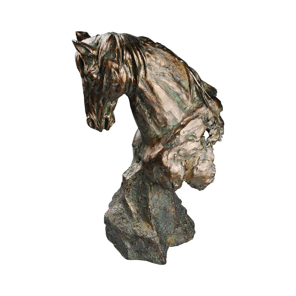 Comfy Hour Magnificent Horse Bust Figurine 18 by 20050