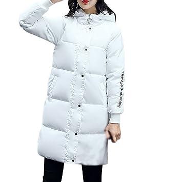 Sonnena Fashion para mujer invierno cálido gruesa sudadera con capucha perchero de pared de algodón chaqueta
