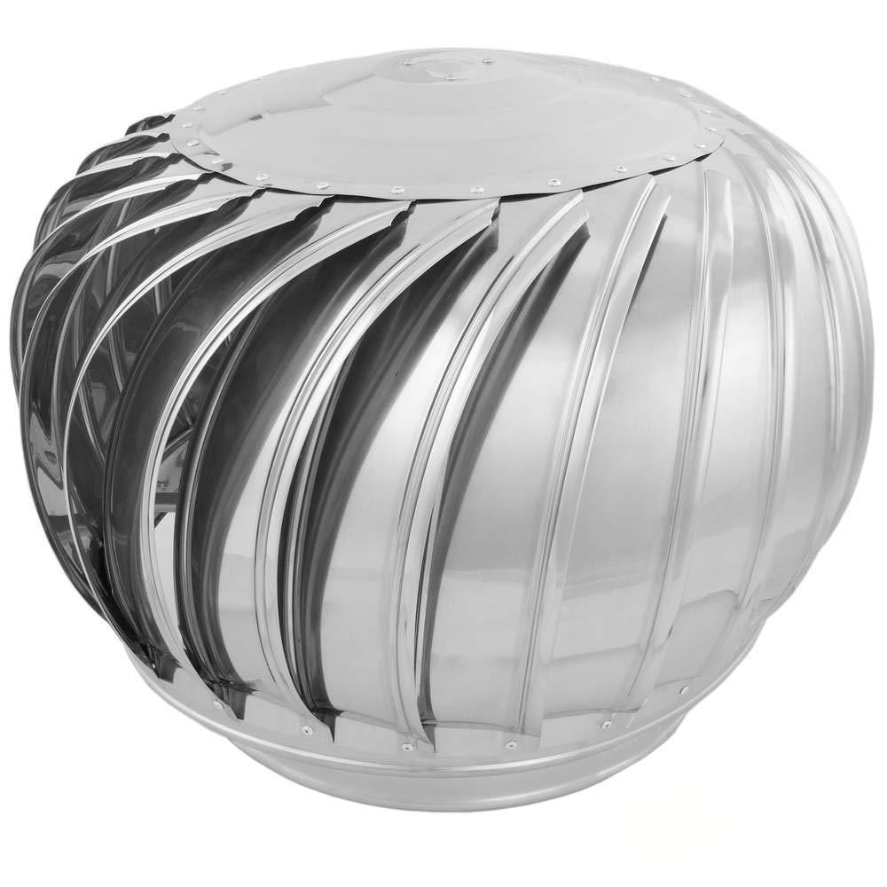 PrimeMatik - Extracteur de fumées Rotatif galvanisé pour poêle pour Tube de 350 mm de diamètre PrimeMatik.com