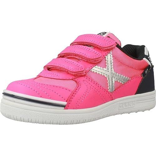 Zapatillas para niña, Color Rosa, Marca MUNICH, Modelo Zapatillas para Niña MUNICH G 3 Kid VCO Rosa: Amazon.es: Zapatos y complementos