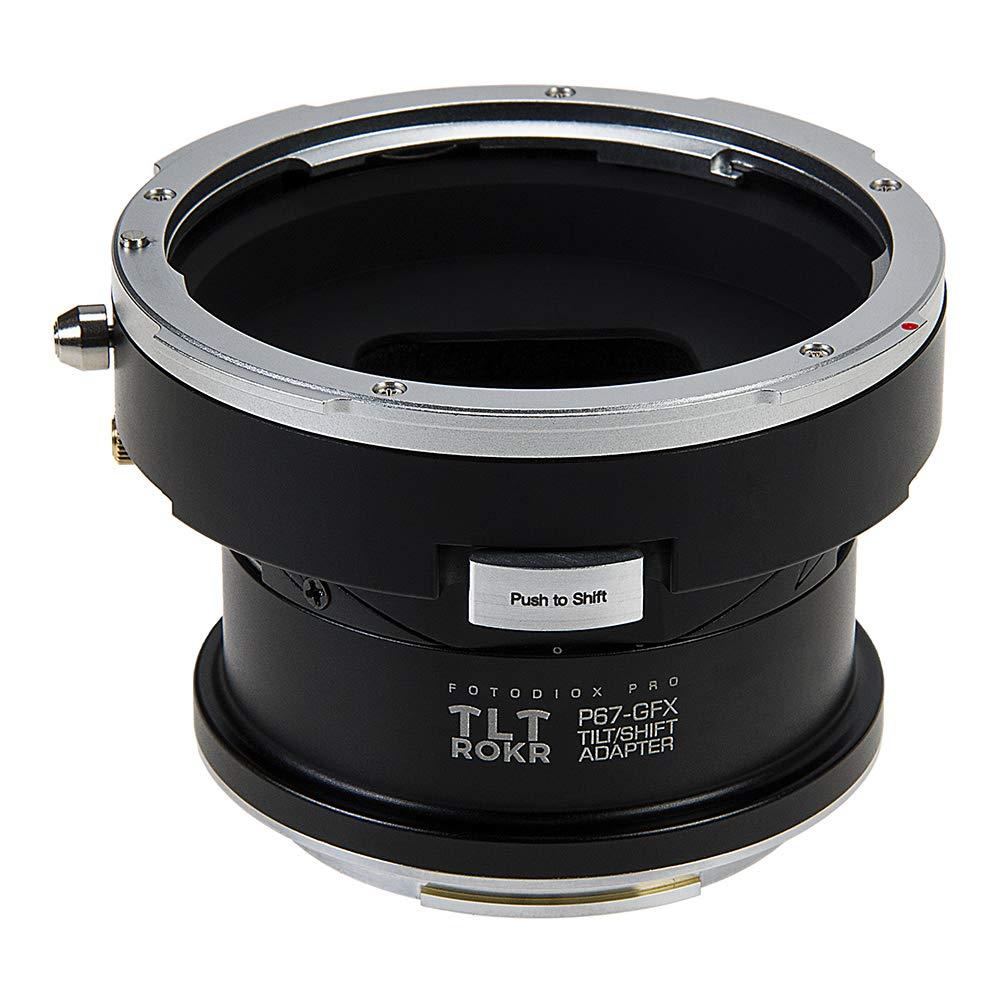 Fotodiox Pro TLT ROKR - チルト/シフトレンズマウントアダプター Pentax 6x7 (P67、PK67) マウント一眼レフカメラ 富士フイルム 富士フイルム Gマウント GFX ミラーレスカメラボディに対応   B07P5VXB7F