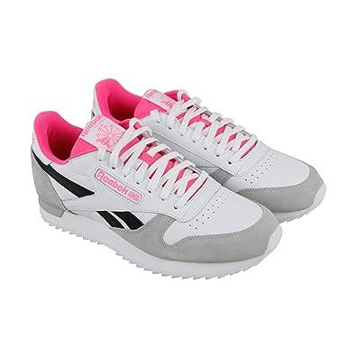 4b7407cc1b030 Amazon.com   Reebok Cl Leather Ripple Clip Su   Fashion Sneakers