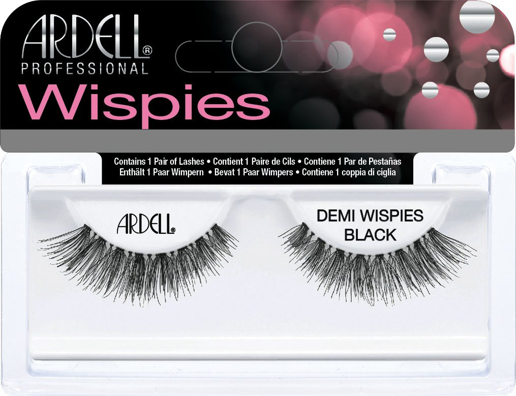 Ardell False Eyelashes - Natural - Demi Wispies (Black)