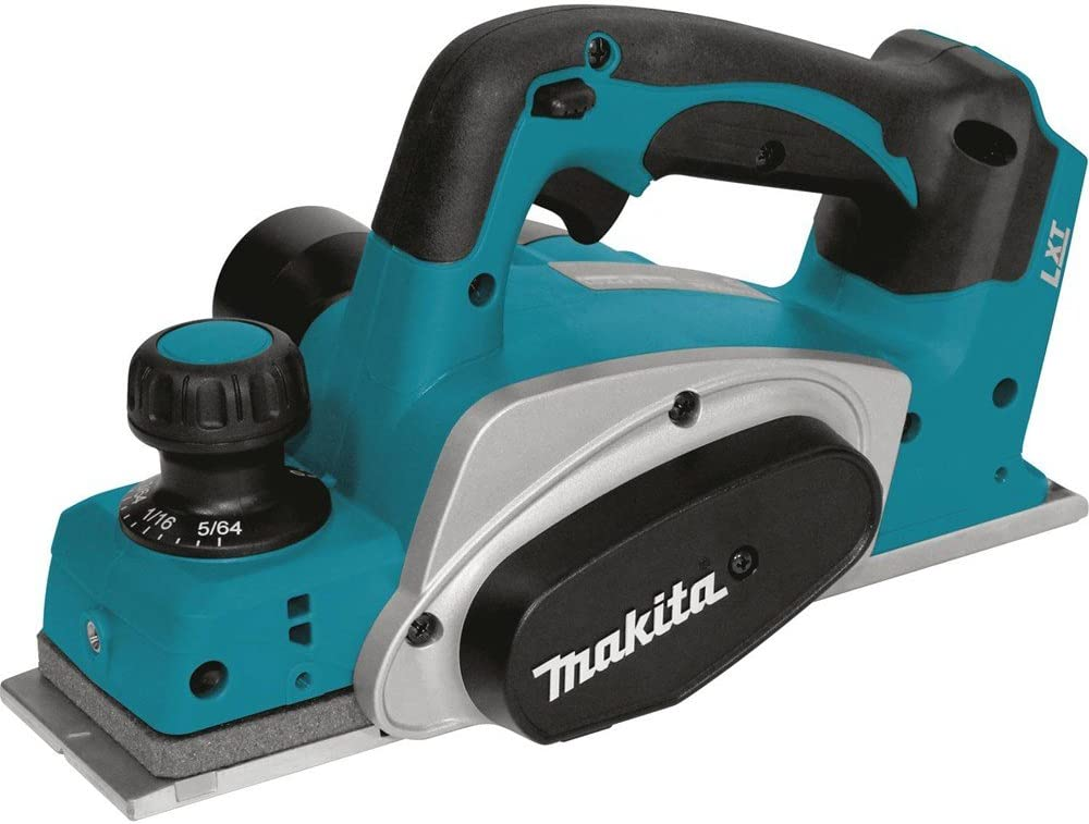 Makita XPK01Z 18V LXT Lithium-Ion Cordless 3-1 4-Inch Planer, Tool Only
