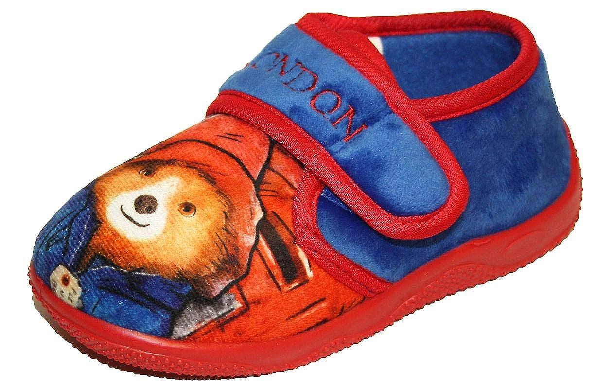 Paddington Marmalade Slipper Kids BOys House Shoes
