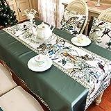 kitchen 67 menu Le Fu Yan Simple Digital Printing Beast Map Table Cloth Rectangular Coffee Table Tablecloth Home Wallpaper 59x91inch (Size : 120x170cm(47x67inch))