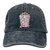 yankees popcorn - GqutiyulU Butter Popcorn Adult Cowboy Hat Black