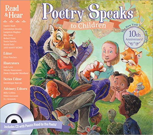 Books : Poetry Speaks to Children (Book & CD) (A Poetry Speaks Experience)