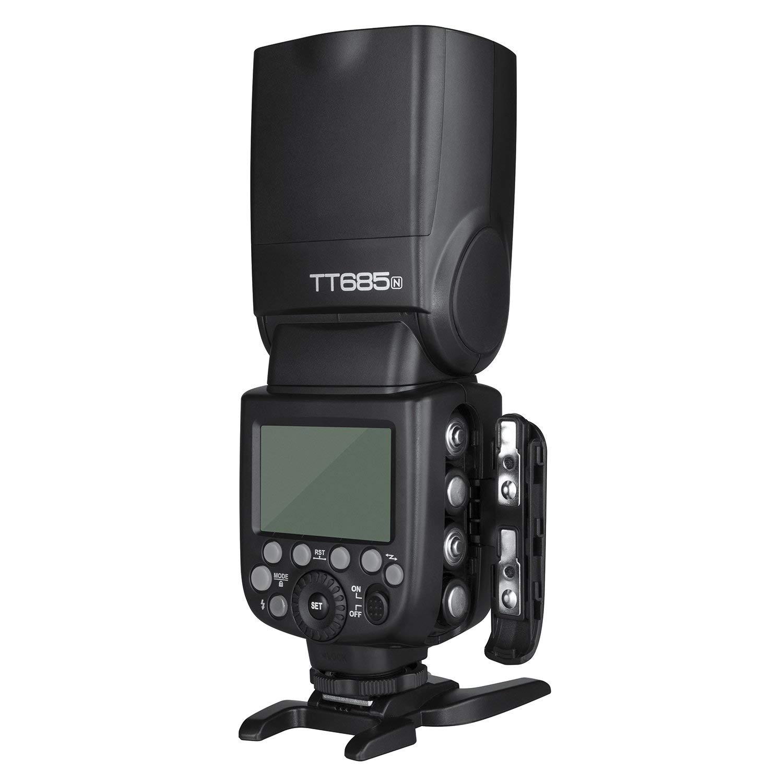 TT685N Godox TT685N TTL Camera Flash Speedlite 2.4G Wireless HSS 1//8000s GN60 for Nikon DSLR Cameras