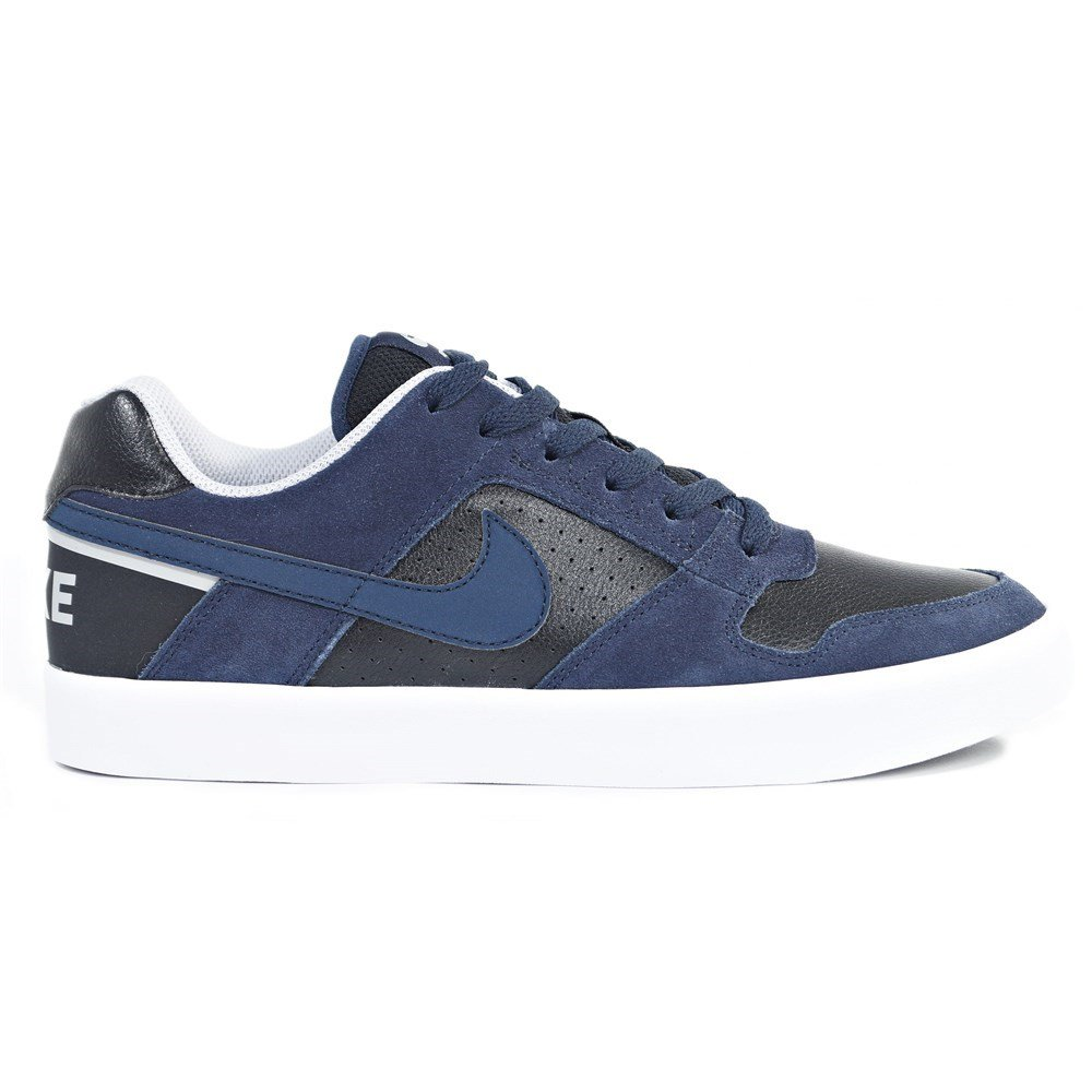 Amazon.com | NIKE SB Delta Force Vulc Mens Skateboarding-Shoes 942237-440_12 - Obsidian/Obsidian-Black-Wolf Grey | Fashion Sneakers