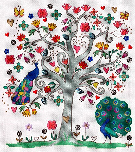 Bothy Threads Love Summer Cross Stitch Kit