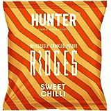 Hunter Deliciously Crinkled Potato Ridges Sweet Chilli - 40gm