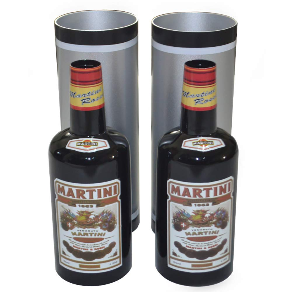 Enjoyer Multiplying Bottles/Moving Increasing Black Bottles Magic Tricks Props Stage Magician Illusion (10 Bottles,Poured Liquid) by Enjoyer (Image #6)