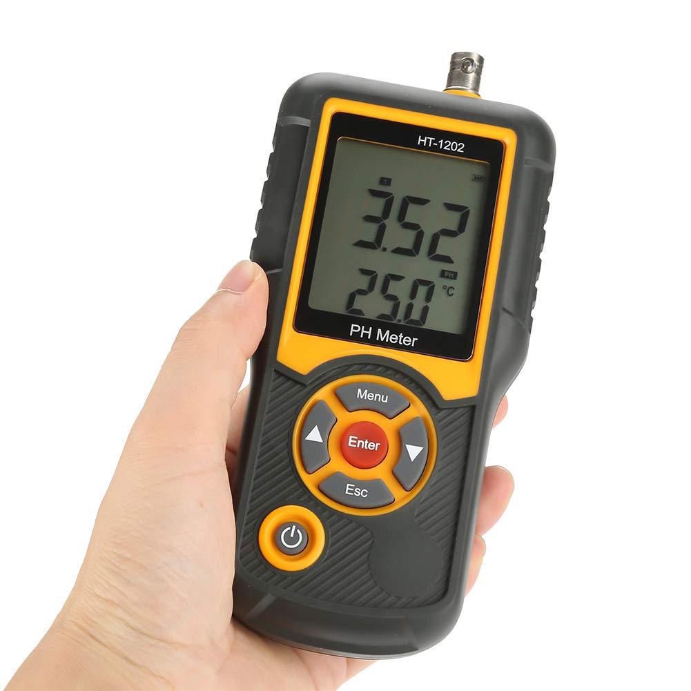 Pool and Aquariu Akozon Digital PH Meter HT-1202 PH Test water 0.01 PH High Precision Digital Water Quality Tester PH mV Tester Temperature Meter with 0-14 PH Measurement Range for Household Drinking