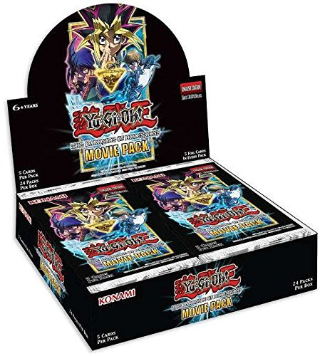 Konami Yu-Gi-Oh! The Dark Side of Dimensions: Movie Pack Box (Blue Eyes Chaos Max Dragon Deck List)