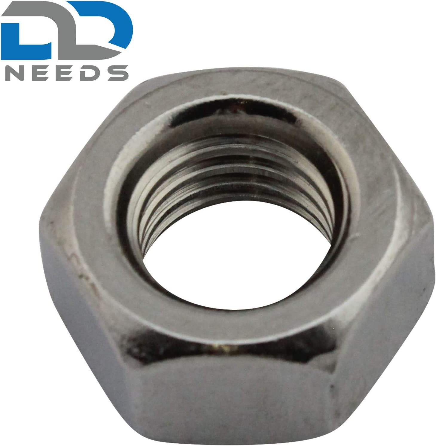 20mm M20 A2 STAINLESS STEEL METRIC HEX FULL NUTS HEXAGON NUT DIN 934