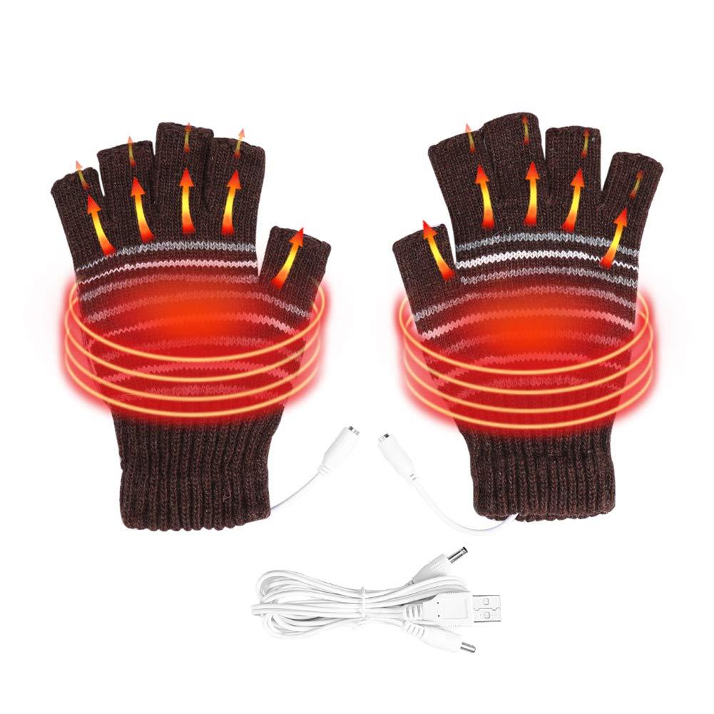 entnehmbare Heiz-Elemente Beheizbare Tastatur bis 50 /°C infactory Beheizte Tastatur: Beheizte USB-Handschuhe