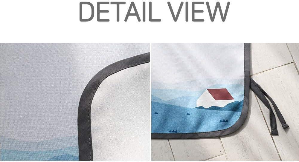 bloqueador de sol BeBe DayDay Parasol magn/ético para ventana lateral de coche protector solar para beb/é protecci/ón contra el sol deslumbramiento interior bloques de calor rayos UV ni/ños