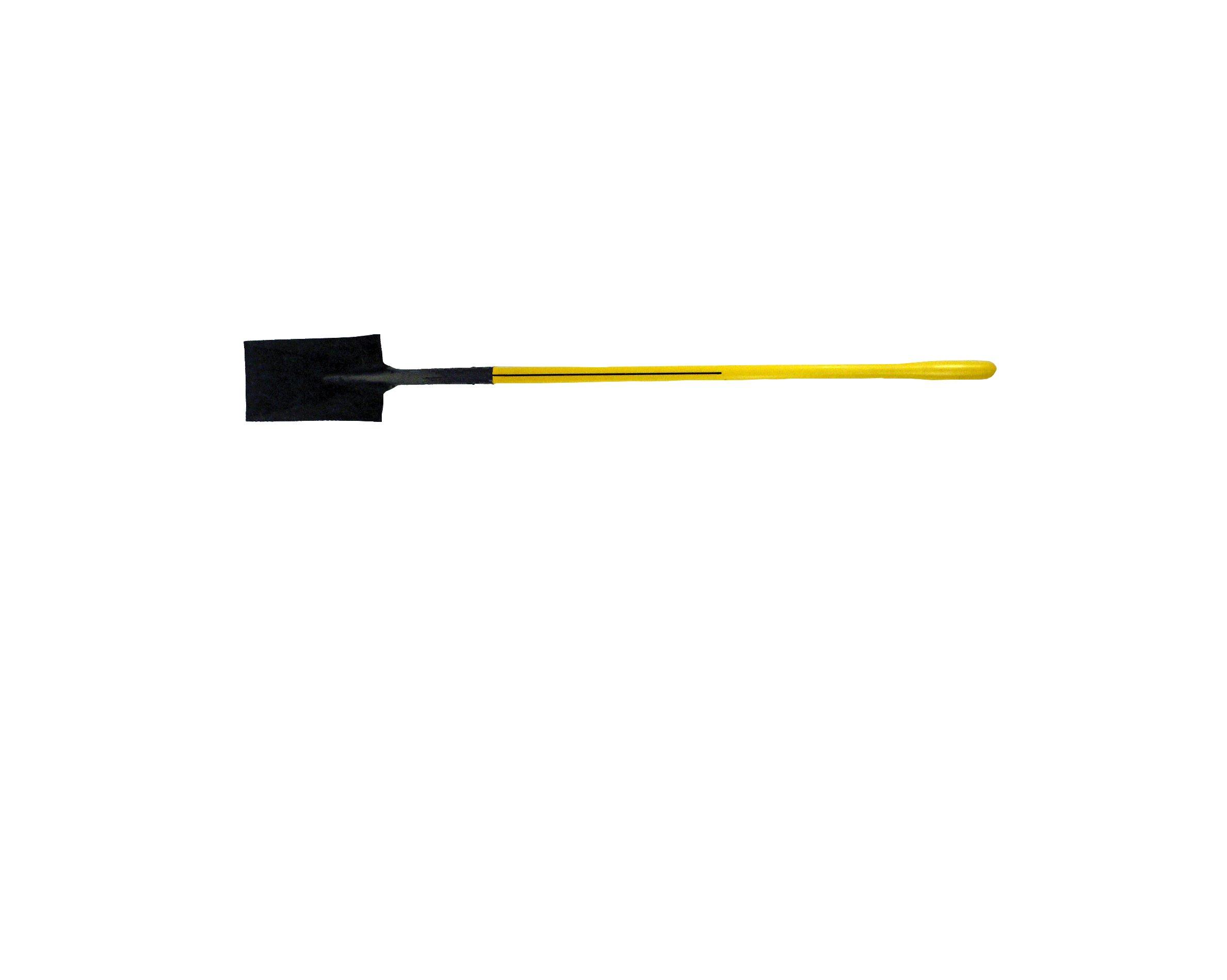 Nupla GS2L-E Ergo Power Garden Spade, Hollow Back Blade, Ergo Grip, 14 Gauge, 48'' Long Handle