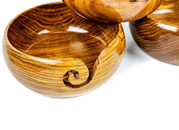 Antiquenauticas design en bois pcs fil bol fait main crochet à