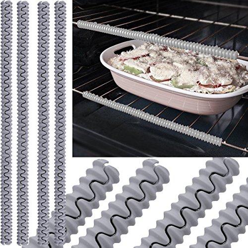 silicon oven rack edge guard - 8