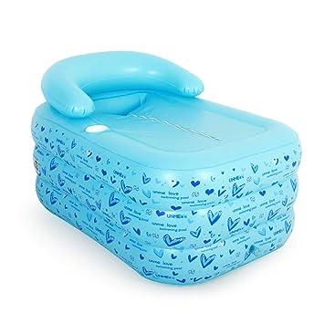 Neilyn Engrosamiento de bañera inflable para adultos bañera plegable de baño niños inflable piscina bañera de baño plástico ...