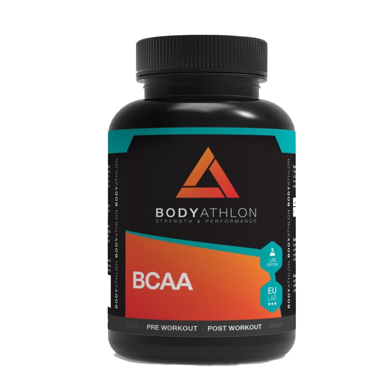 BodyAthlon - BCAA Aminoácidos ramificados - 90 Comprimidos 1000 mg de alta calidad: Amazon.es: Salud y cuidado personal