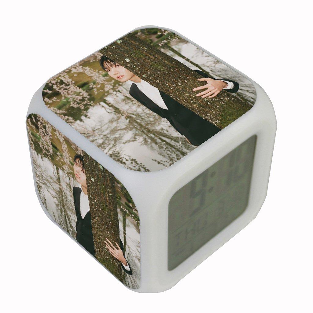 Amazoncom Fanstown Bts Clock 7 Color Led Digital Alarm Clock