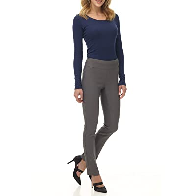 Rekucci Women's Ease into Comfort Stretch Slim Pant at Women's Clothing store