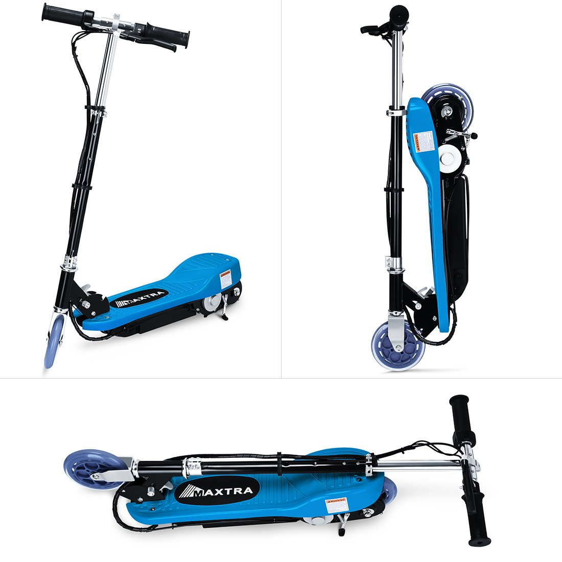 Amazon.com: BenefitForU - Patinete eléctrico plegable para ...