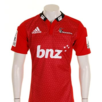 9cef2133af5 Canterbury Crusaders 2015 Home Super 15 S/S Rugby Shirt - size XL ...