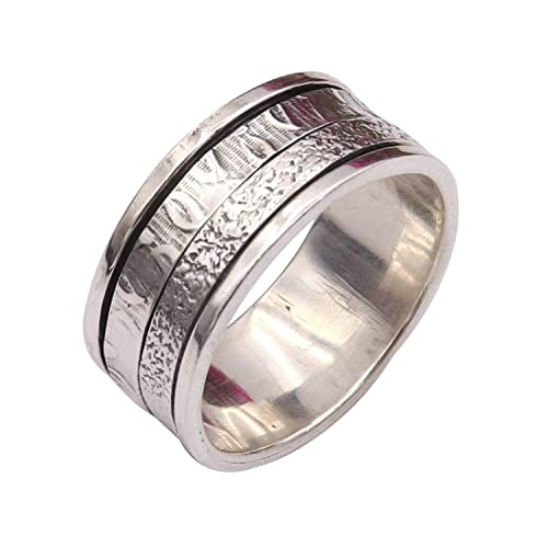 Promise SILVER  spinner ring