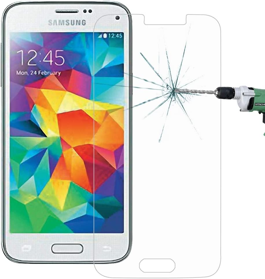 ZHANGYUNSHENG 100 PCS for Galaxy S5 Mini G800 0.26mm 9H Surface Hardness 2.5D Explosion-Proof Tempered Glass Screen Film zys